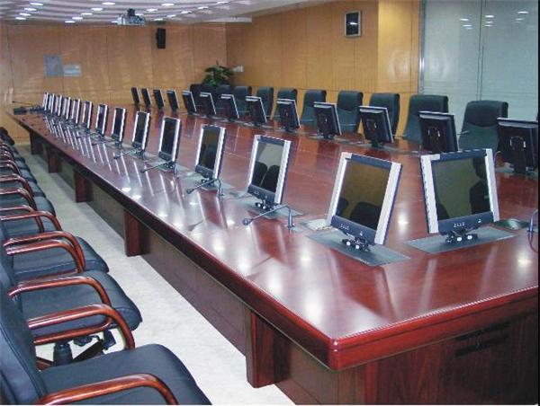 会议室自动升降屏系统设计方案 北京美瑞歌科技有限公司